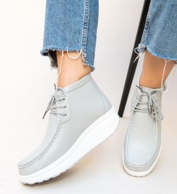 Pantofi Casual Vinto Gri