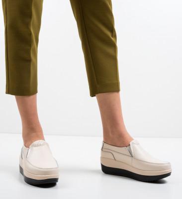 Pantofi Casul Freeman Bej