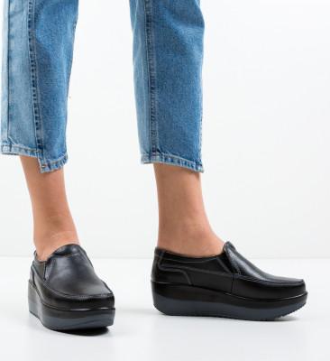 Pantofi Casul Freeman Negri