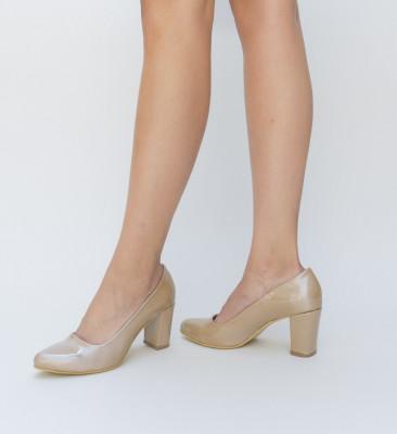Pantofi Casy Khaki