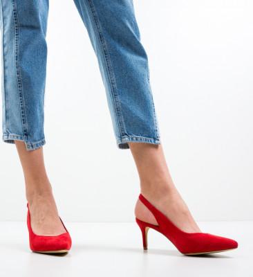 Pantofi Chyna Rosii