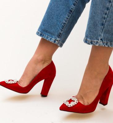 Pantofi Cornelius Rosii