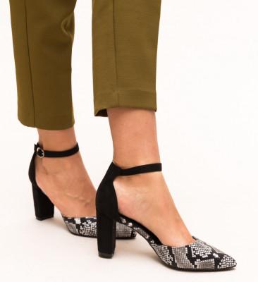Pantofi Cupra Negri