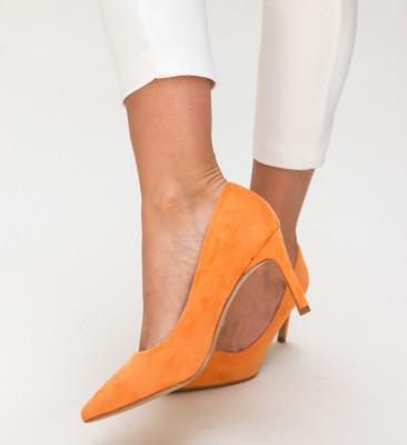 Pantofi Deaco Portocalii