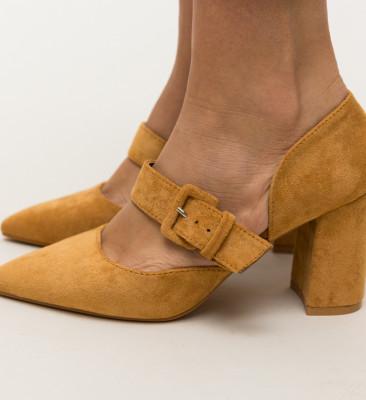 Pantofi Dionne Camel