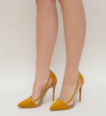 Pantofi Duck Galbeni