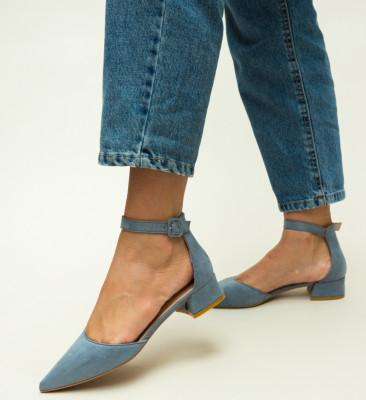 Pantofi Eryn Albastri