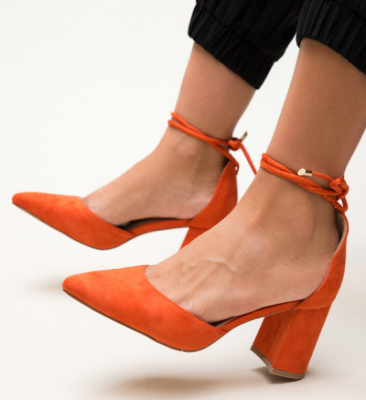 Pantofi Fitonic Portocali