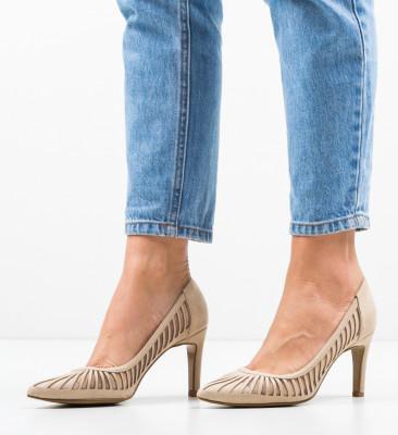 Pantofi Genmeli Bej