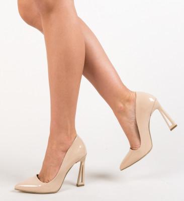 Pantofi Gingis Nude