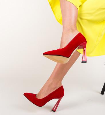 Pantofi Gingis Rosii