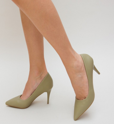 Pantofi Gomy Verzi