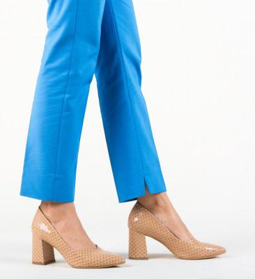 Pantofi Hilfi Nude