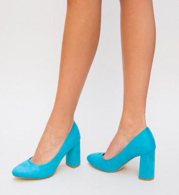 Pantofi Iguar Albastri