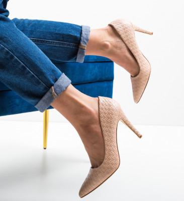 Pantofi Inez Nude