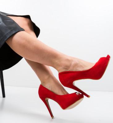 Pantofi Jayce Rosii