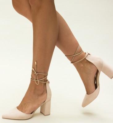 Pantofi Judy Nude
