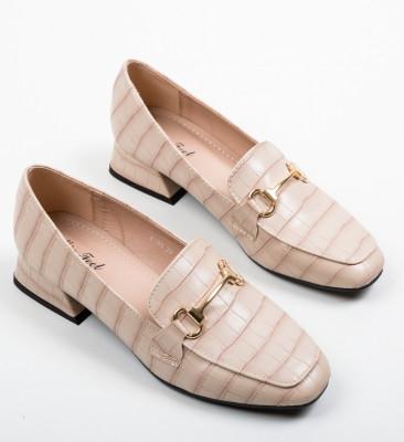 Pantofi Lonao Bej