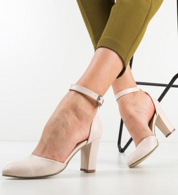 Pantofi Narcissa Bej
