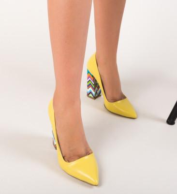 Pantofi Nasero Galbeni 2