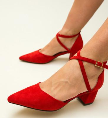 Pantofi Ramos Rosii