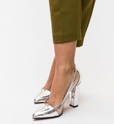 Pantofi Seneha Argintii