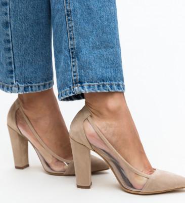 Pantofi Seneha Bej 2