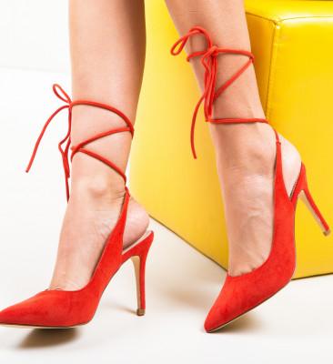 Pantofi Solly Rosii