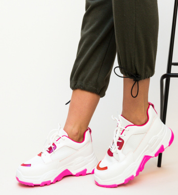 Pantofi Sport Bazic Roz