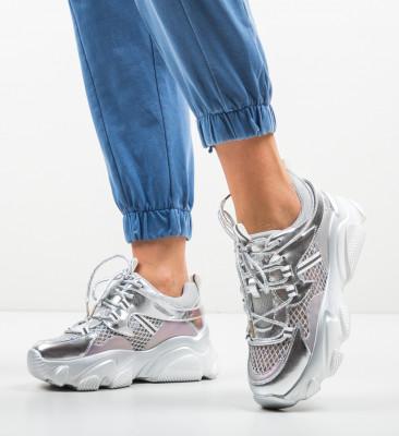 Pantofi Sport Cobras Argintii