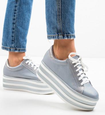 Pantofi Sport Conce Argintii