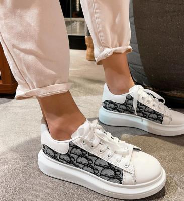 Pantofi Sport Dori Albi