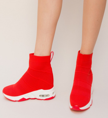 Pantofi Sport Godic Rosii