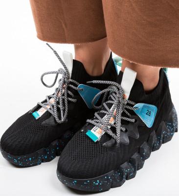 Pantofi Sport Greleko Negri 2