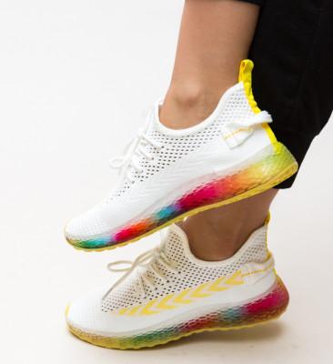 Pantofi Sport Iris Albi 2