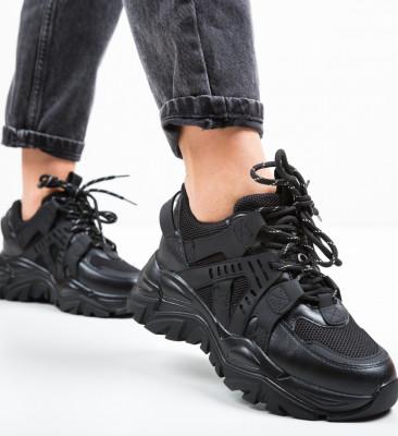 Pantofi Sport Jelby Negri