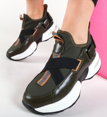 Pantofi Sport Jerusalema Khaki