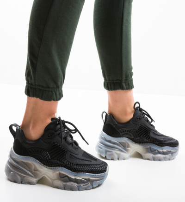 Pantofi Sport Jimsax Negri