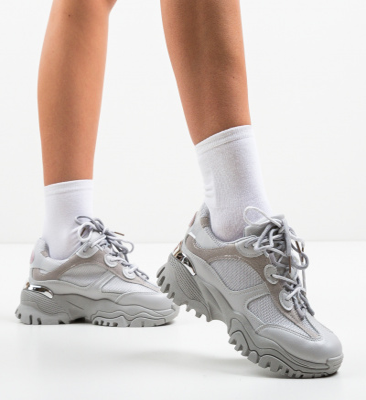 Pantofi Sport Leoram Gri
