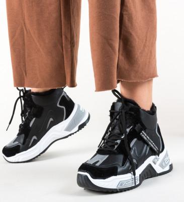 Pantofi Sport Macy Negre