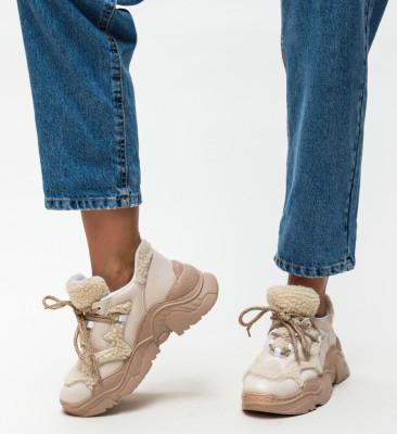 Pantofi Sport Puffi Bej