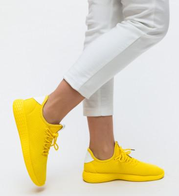 Pantofi Sport Reto Galbeni