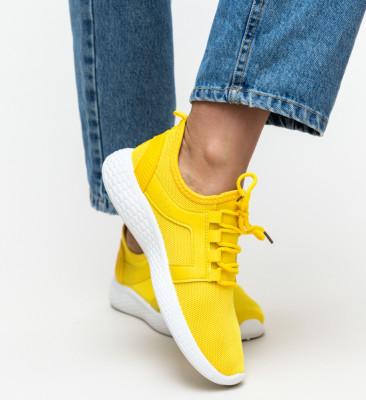 Pantofi Sport Reva Galbeni