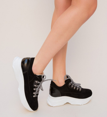 Pantofi Sport Semi Negri