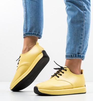 Pantofi Sport Ylan Galbeni