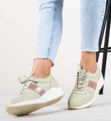 Pantofi Sport Yusha Bej