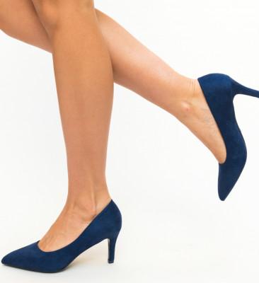 Pantofi Vargas Bleumarin