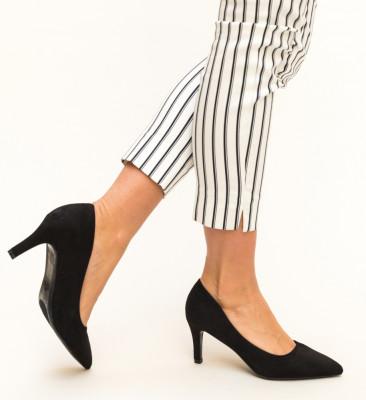 Pantofi Vargas Negri