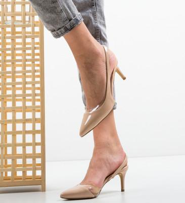 Pantofi Vienna Nude