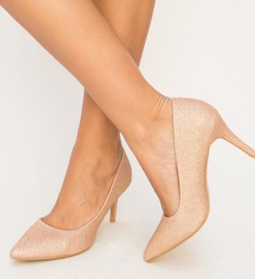 Pantofi Zeno Aurii